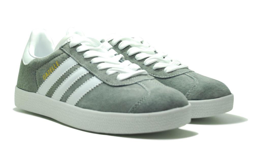 adidas gazelle suede grey woman