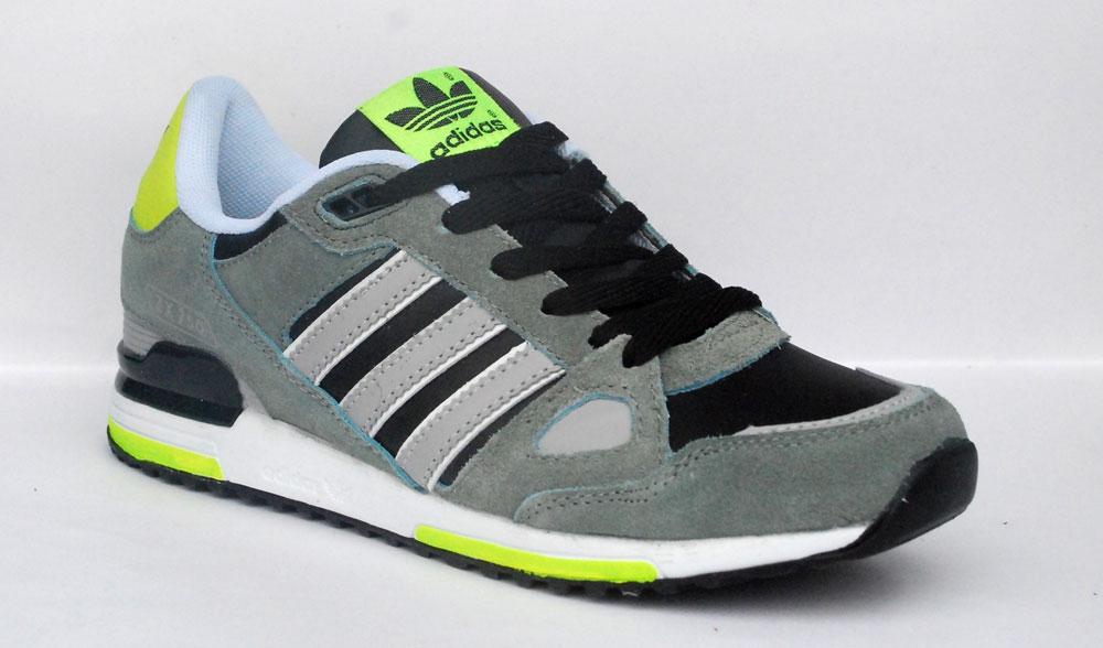 grey green black adidas zx 750