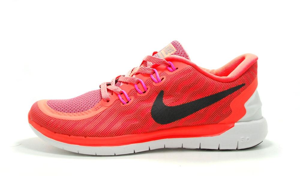 nike free run 5.0 coral 2016 woman