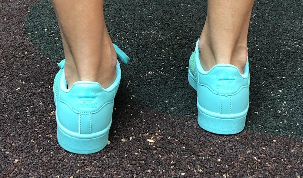 adidas superstar ii mint woman