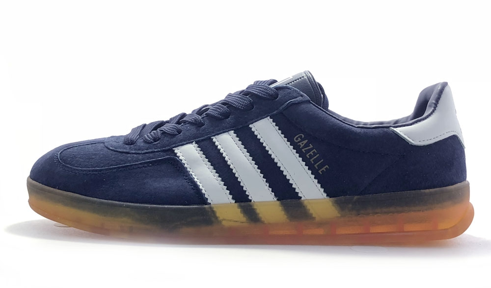 adidas gazelle new blue/yellow men