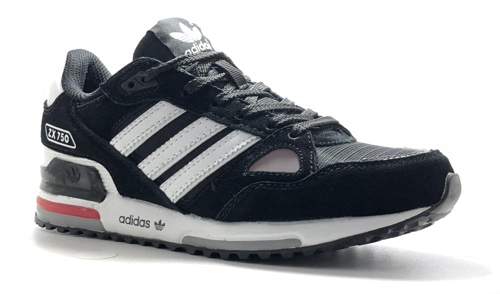 adidas zx 750 black white woman