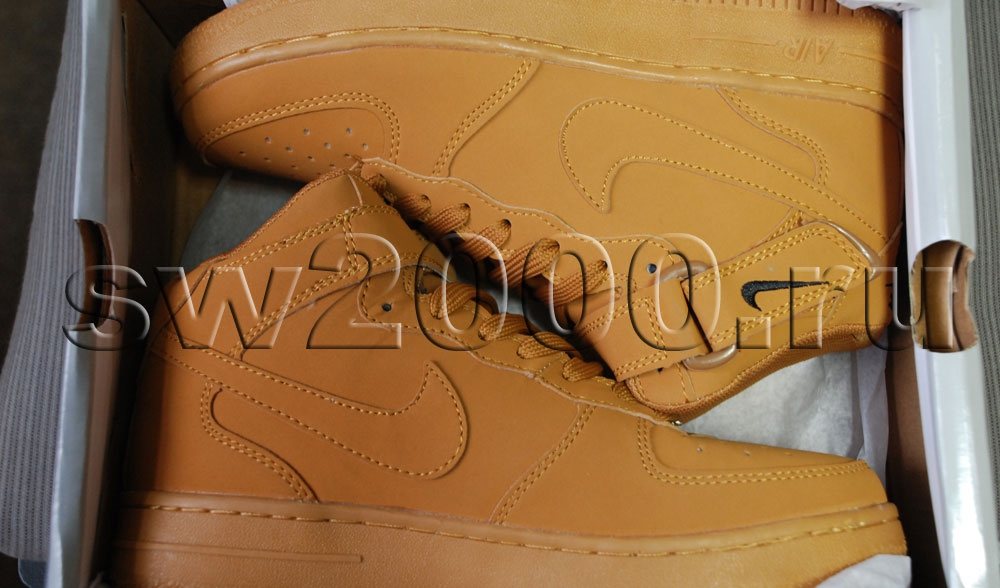 Nike Air Force 1 Mid Brown Men