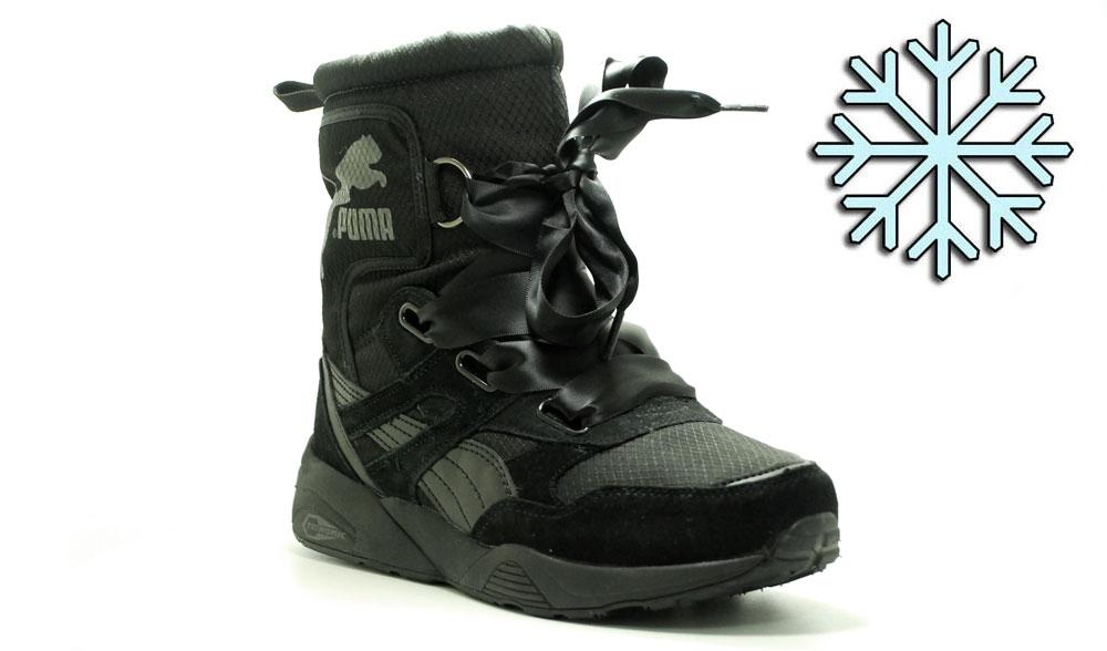 Зимние ботинки Puma Trinomic Black Winter Woman