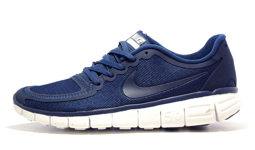 Nike Free Run 5.0 Dark Blue/White Men