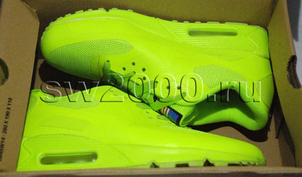 nike air max 90 hyperfuse lime woman