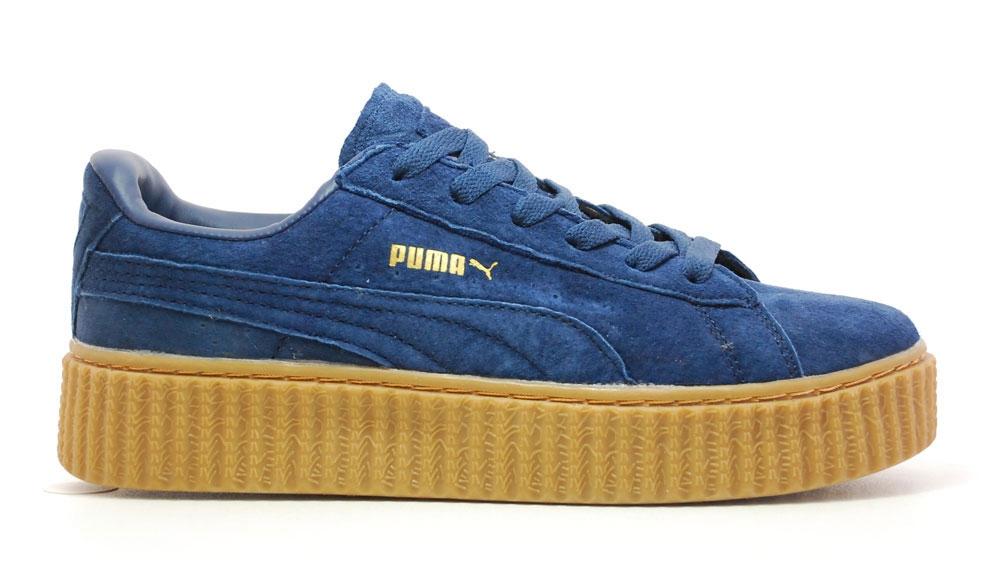 Puma By Rihanna Creeper Low Blue/Brown Woman