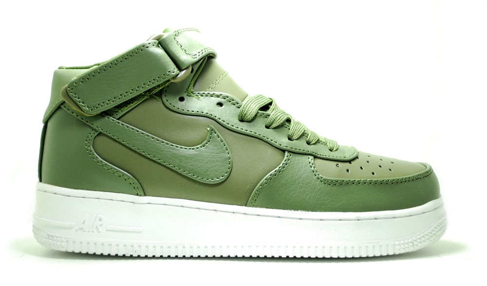 Nike Air Force 1 Olive Mid Men