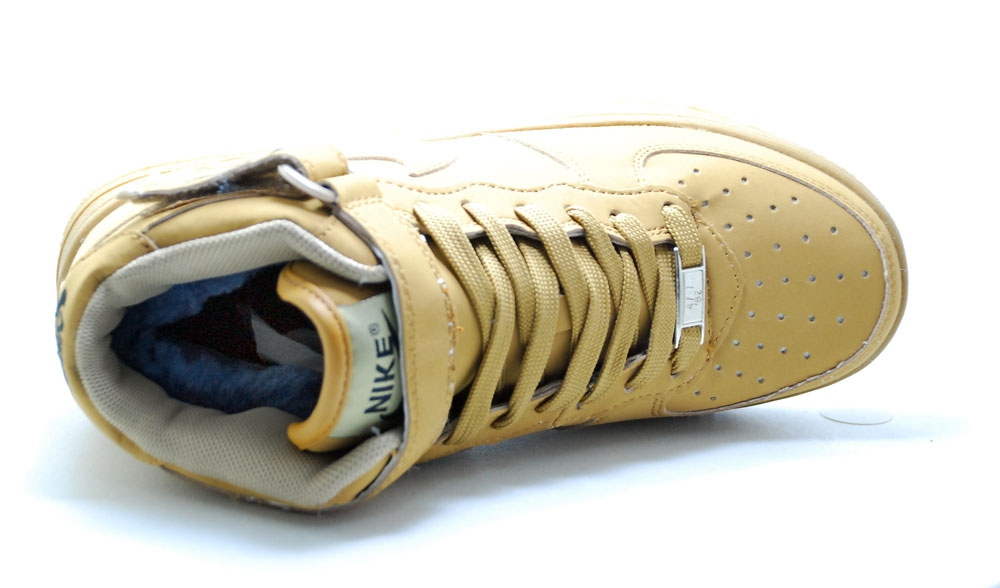 Nike Air Force 1 Mid Sandy Brown Woman