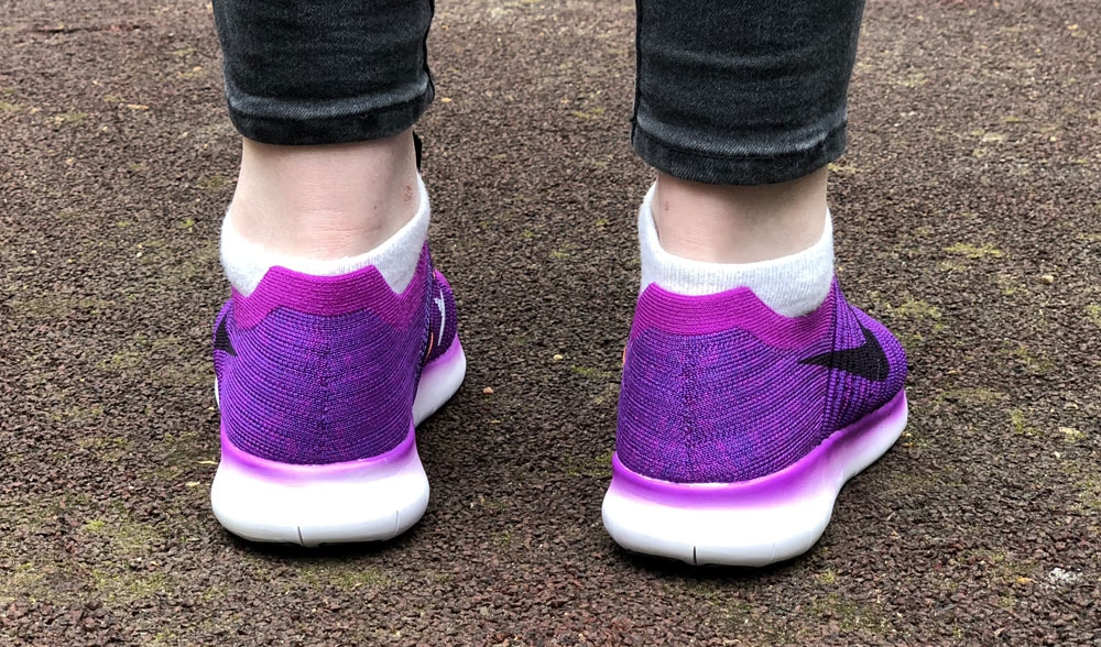 Nike Free Run Flyknit Purple Woman