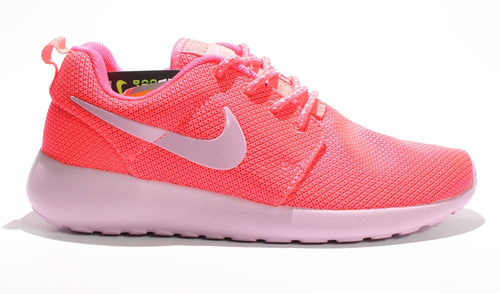 Nike Roshe Run Coral Woman