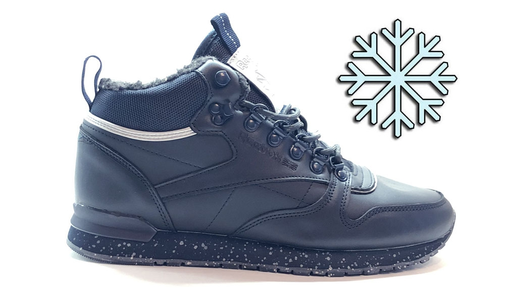 Reebok Classic Mid Sherpa Dark Blue Men Winter