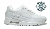 Nike Air Max 90 White  Woman  Winter