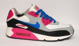 Nike Air Max 90 White/Pink/Blue Woman Winter