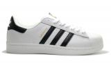 Adidas Superstar II White/Black Woman