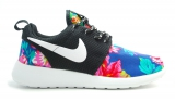 Nike Roshe Run Black/Flower Woman