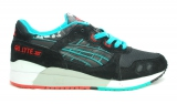 Asics Gel Lyte III Black/Blue/Red Men