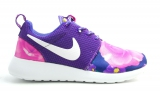 Nike Roshe Purple/Flower Woman