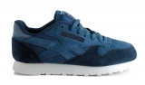 Reebok Classiс Dark Blue Light Blue Shuede Woman