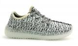 Adidas Yeezy 350 Boost Black/White Silicone Woman