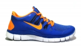 Nike Free Run 5.0 Blue/Orange Woman