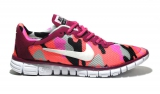Nike Free Run 3.0 Cherry/Pink Сamouflage Mesh Woman