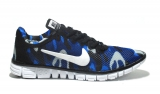 Nike Free Run 3.0 Blue Сamouflage Mesh Woman
