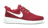 Nike Roshe Run Bordo/White Woman