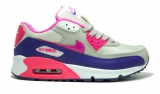 Nike Air Max 90 Pink/Grey/White/Violet  Mesh Woman