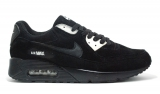 Nike Air Max 90 Black White Suede Men