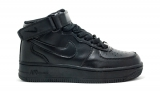 Nike Air Force 1 Mid Black Woman
