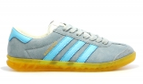 Adidas Hamburg Grey/Sky/Yellow Woman