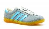 adidas hamburg grey/sky/yellow woman