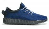 Adidas Yeezy 350 Boost Black Blue Men