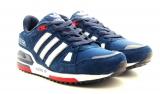 adidas zx 750 blue/white woman