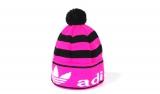 Шапка зимняя Adidas Black/Pink