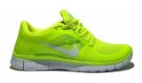 Nike Free Run 5.0 Lime/White Woman