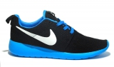 Nike Roshe Run Black/Sky Mesh Men