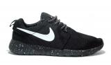 Nike Roshe Run Splash Black/White-logo Men Mesh