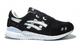 Asics Gel Lyte III Black/White Shuede Woman