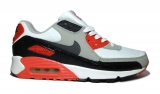 Nike Air Max 90 Black/Grey/Red Men