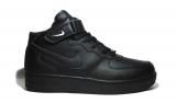 Nike Air Force 1 Mid Black Men
