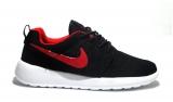 Nike Roshe Run Black/White/Cherry Mesh Men