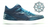 Кеды Nike Air Blue Leather Winter Men
