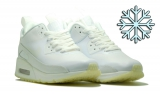 nike air max 90 snikerboot white winter woman