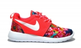 Nike Roshe Run Coral/Flower Woman