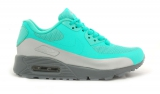 Nike Air Max 90 Hyperfuse Mint/Silver Woman