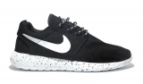 Nike Roshe Run Splash Black/White Men Mesh