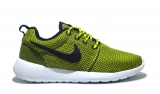 Nike Roshe Run Yellow/Lime Woman