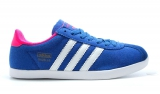 Adidas Gazelle Blue White Coral Woman